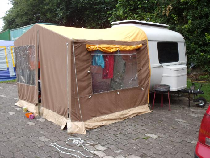 qek junior mit vorzelt occd oldie camping club. Black Bedroom Furniture Sets. Home Design Ideas